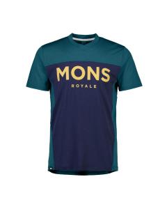 Mons Royale Mens Redwood Enduro VT Deep Teal/Navy