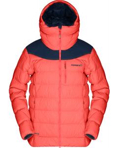 Norröna Women tamok down750 Jacket orange alert