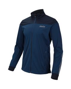 Swix Cross jacket Men estate blue