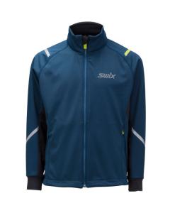 Swix Cross jacket Junior straight Majolica blue