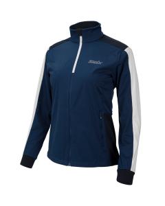 Swix Cross jacket Women estate blue