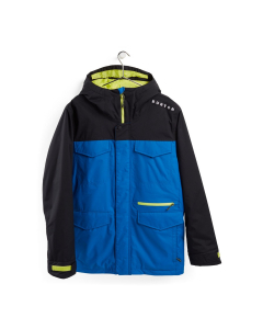 Burton Men's Covert Jacket True Black/Lapis Blue
