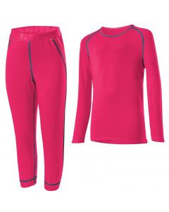 Löffler KI. SET 3/4 HOSE TRANSTEX® WARM 13746 pink