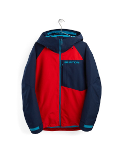 Burton Men's GTX Radial Insulated Jacket Flame Scarlet/Dress Blue