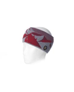 Riggler Stirnband Stewart Grey-Red