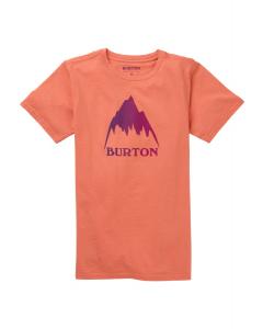 Burton Kids' Classic Mtn High SS T-Shirt Crabapple