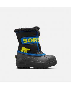 Sorel Stiefel CHILDRENS SNOW COMMANDER Black Super Blue
