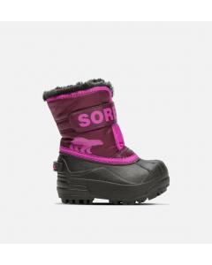 Sorel Stiefel CHILDRENS SNOW COMMANDER Purple Dahlia