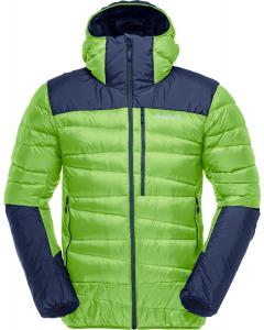 Norröna falketind down hood Jacket Men Bamboo Green