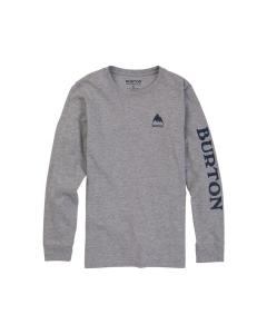 Burton Kids' Elite LS T-Shirt Gray Heather