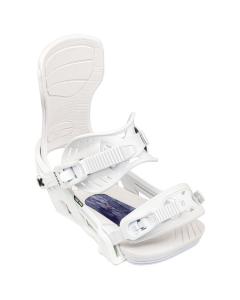 Bent Snowboard Bindung CORPRO WHITE