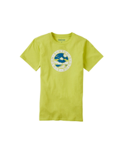 Burton Kids' Cole SS T-Shirt Limeade
