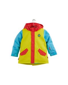 Burton Toddlers' Parka Jacket Hibiscus/Limade