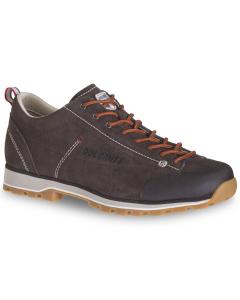 Dolomite Shoe M's 54 Low Dark Brown/Red