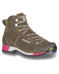 Dolomite Shoe W's 54 Hike GTX Otter Brown/Taupe Beige