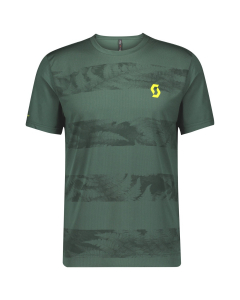 Scott Mens Shirt Trail Flow smoked green