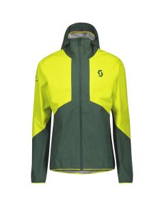 Scott Mens Jacket Explorair Light Dryo 2.5L sulphur yellow/smoked yellow