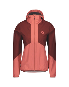 Scott Womens Jacket Explorair Light Dryo 2.5L rust red/brick red