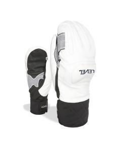 Level Glove Race Mitt Black-white