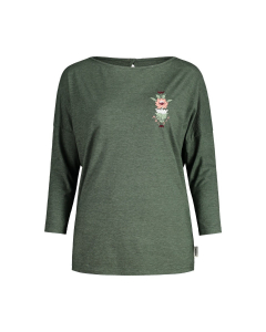 Maloja Damen JangathengM. T-Shirt dark cypress