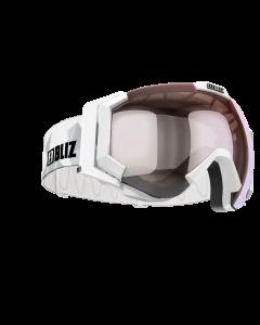 Bliz Skibrille Carver SR OTG white