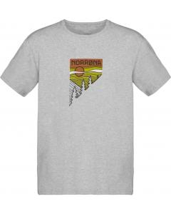 Norröna /29 cotton pinetree T-Shirt Men Grey Melange