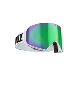 Bliz Skibrille Flow + Bonus Lens White