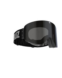 Bliz Skibrille Flow + Bonus Lens Black
