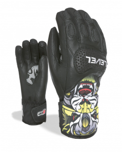 Level Handschuh SQ JR CF PK Black