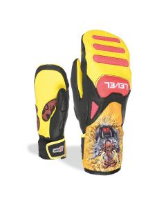 Level Glove SQ JR CF Mitt Red