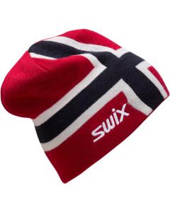 Swix Norway Beanie Junior Red