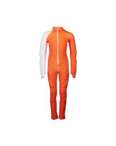 POC Skin GS Jr Zink Orange/Hydrogen White