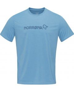 Norröna Men tech T-Shirt coronet blue