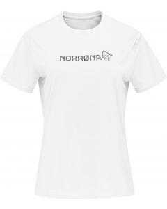 Norröna Women tech T-Shirt snowdrop