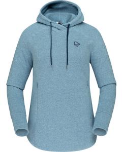 Norröna Women warm2 Hood coronet blue
