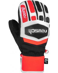 Reusch Worldcup Warrior GS Junior Mitten black/white/fluo red
