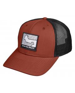 Ortovox WOOL PROMISE TRUCKER CAP clay orange
