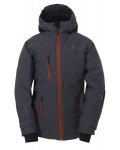 2117 Boys Eco Light Padd Jacket Knatten aop