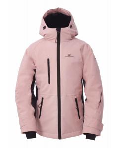 2117 Girls Eco Light Padd Jacket Knatten dusty rose