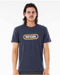 Rip Curl Men SURF REVIVAL HEY MUMA TEE NAVY