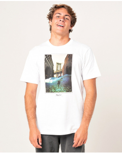 Rip Curl Men GOOD DAY BAD DAY TEE WHITE