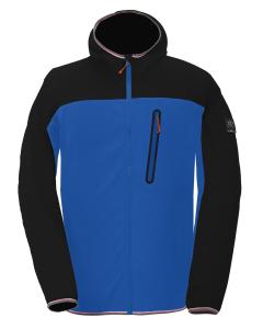 2117 Mens Eco Square Fleece Jacket Talatta Blue