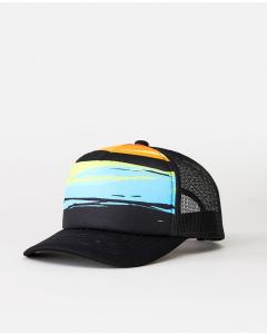 Rip Curl Boys ALL DAY TRUCKER CAP BLUE BLACK
