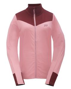 2117 Womens Eco Powerfleece Jacket Sikvik dark rose