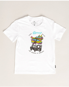 Rip Curl TRUCKITO SS TEE GROMS WHITE