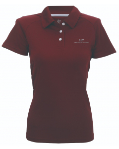 2117 Womens Eco Technical Pique Frösaker wine red