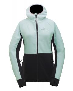 2117 Womens Eco Powerfleece Hood Jacket Linsell Mint