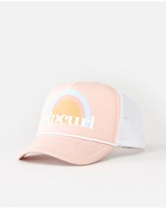 Rip Curl TRUCKER CAP MINI PEACH