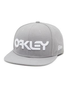 Oakley Mens MARK II NOVELTY SNAP BACK Stone Gray