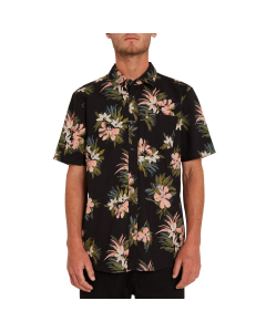 Volcom Men FLORAL WITH CHEESE Black